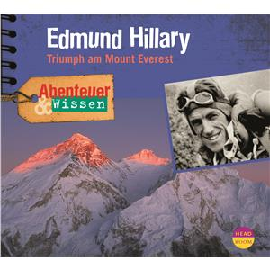Hörbuch Cover: Edmund Hillary, Triumph am Mount Everest