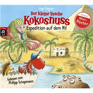 Hörbuch Cover: Expedition auf dem Nil