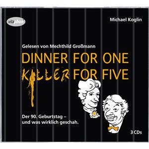 Hörbuch Cover: Dinner for One - Killer for Five