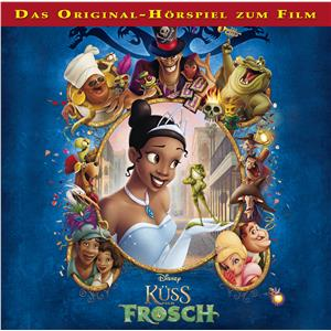 Hörbuch Cover: Disney - Küss den Frosch (Download)
