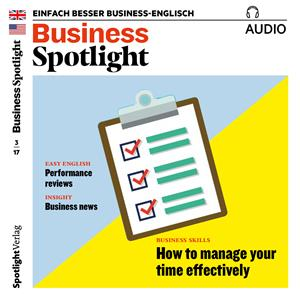Hörbuch Cover: Business-Englisch lernen Audio - Effektives Time-Management (Download)