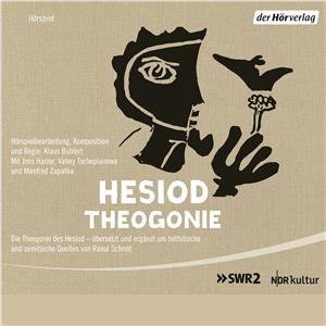 Hörbuch Cover: Die Theogonie des Hesiod (Download)