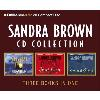 Hörbuch Cover: Sandra Brown Cd Collection: Bittersweet Rain, Sweet Anger, Eloquent Silence