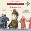 Hörbuch Cover: Faust, Wilhelm Tell, Nathan der Weise