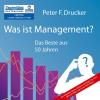 Hörbuch Cover: Was ist Management