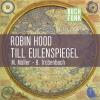 Hörbuch Cover: Robin Hood & Till Eulenspiegel (Download)
