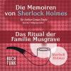 Hörbuch Cover: Sherlock Holmes - Das Ritual der Familie Musgrave (Download)