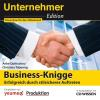 Hörbuch Cover: CD WISSEN - Unternehmeredition - Business-Knigge (Download)