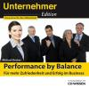 Hörbuch Cover: CD WISSEN - Unternehmeredition - Performance by Balance (Download)