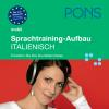 Hörbuch Cover: PONS mobil Sprachtraining Aufbau: Italienisch (Download)