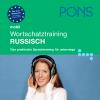 Hörbuch Cover: PONS mobil Wortschatztraining Russisch (Download)