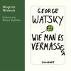 Hörbuch Cover: Wie man es vermasselt (Download)