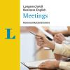 Hörbuch Cover: Langenscheidt Meetings (Download)