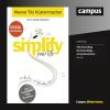Hörbuch Cover: simplify your life (Download)
