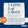 Hörbuch Cover: Lists of note – live (Download)