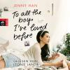 Hörbuch Cover: To all the boys I've loved before (Download)
