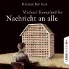 Hörbuch Cover: Nachricht an alle (Download)