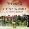 Hörbuch Cover: A Lesson in Murder - Cherringham - A Cosy Crime Series: Mystery Shorts 13 (Unabridged) (Download)