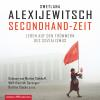 Hörbuch Cover: Secondhand-Zeit (Download)