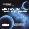 Hörbuch Cover: Listen to the Universe - Phantastische Gutenachtgeschichten, Vol. 3 (Download)