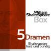 Hörbuch Cover: William Shakespeare: 5 Dramen (Download)