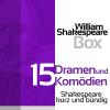 Hörbuch Cover: William Shakespeare: 15 Dramen und Komödien (Download)