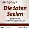 Hörbuch Cover: Die toten Seelen (Download)