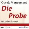 Hörbuch Cover: Die Probe (Download)