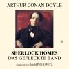 Hörbuch Cover: Sherlock Holmes: Das gefleckte Band (Download)